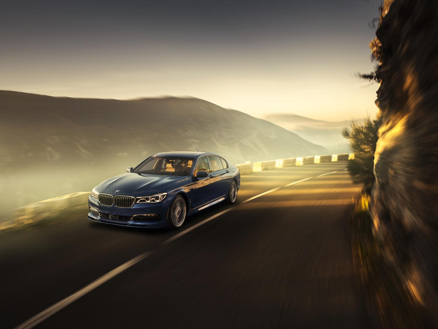 Alpina turns the 7 Series into the AMG-punching super-sedan that BMW won't build
