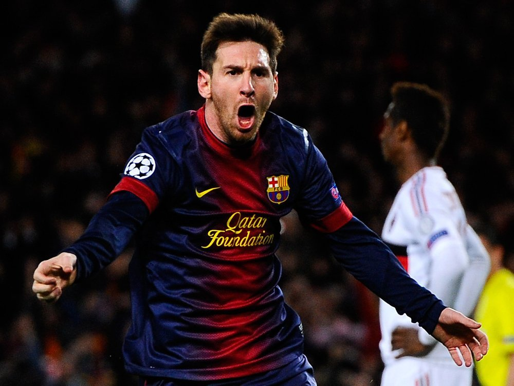 lionel messi champions league goal