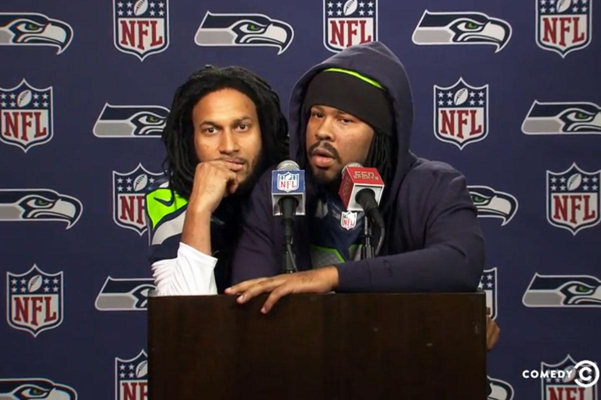 Key & Peele prove Richard Sherman and Marshawn Lynch are smarter than the Academy