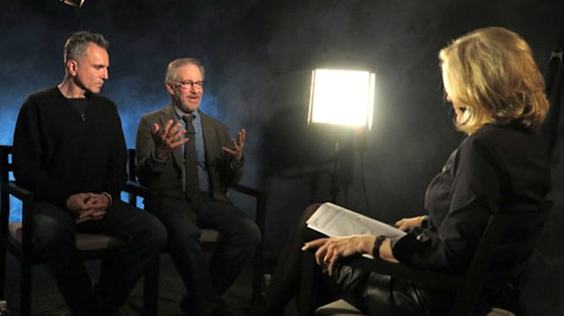 Daniel Day-Lewis, Spielberg Share 'Lincoln' Experience (ABC News)