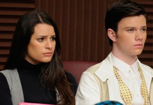 Glee, Lea Michele and Chris …