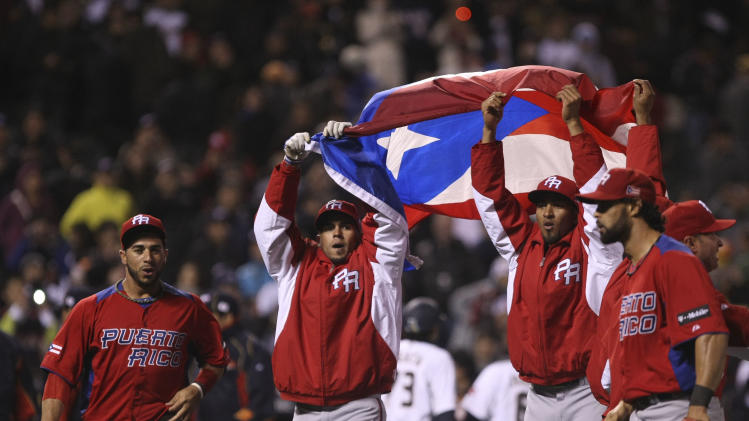 Baseball: World Baseball Classic-Puerto Rico vs Japan