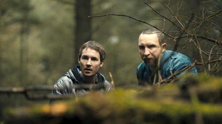 Martin Compston Eddie Marsan The Disappearance of Alice Creed Production Stills Anchor Bay 2010