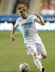 Marko Marin in action for Chelsea against the MLS All-Stars in a friendly on July 25, 2012. Marin has made just one Premier League start for the Blues since leaving Werder Bremen and won the last of his 16 Germany caps in November 2010