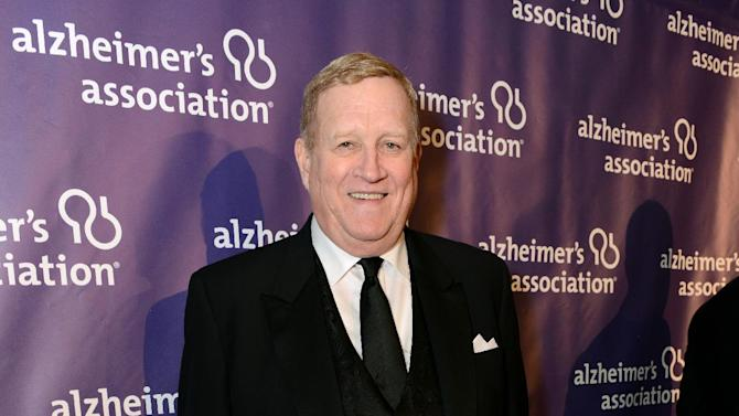 Actor Ken Howard arrives at the 21st Annual 'A Night at Sardi's' to benefit the Alzheimer's Association at the Beverly Hilton Hotel on Wednesday, March 20, 2013 in Beverly Hills, Calif. (Photo by Jordan Strauss/Invision for Alzheimer's Association/AP Images)