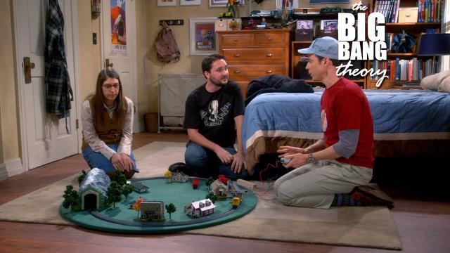 The Big Bang Theory - Embarrassment Express