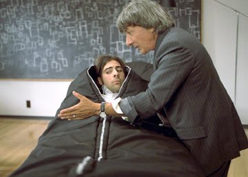Jason Schwartzman and Dustin Hoffman in Fox Searchlight's I Heart Huckabees
