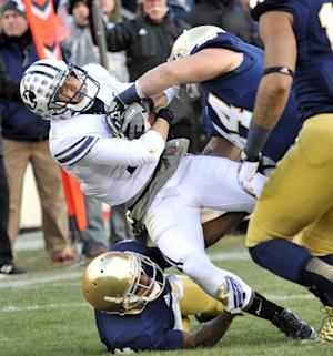 Kelly: Notre Dame needs to build on physical play