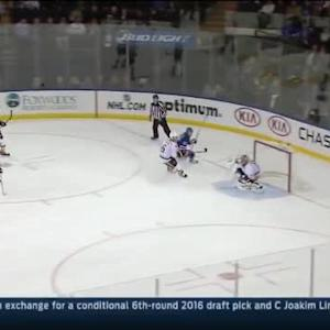 Pekka Rinne Save on Ryan McDonagh (09:12/2nd)