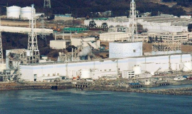 La centrale nuclaire de Fukushima (Japon), le 17 mars 2011
