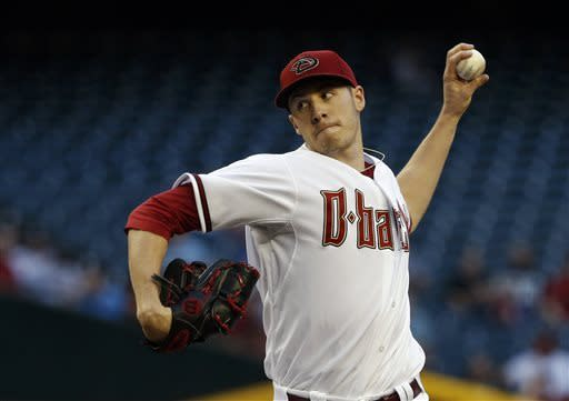 Corbin leads Diamondbacks to 2-1 win over Phillies