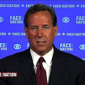 "Santorum on Iran nuclear deal: ""Folly from its foundation"""