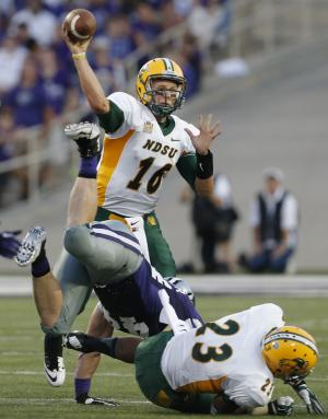 North Dakota State stuns Kansas State 24-21