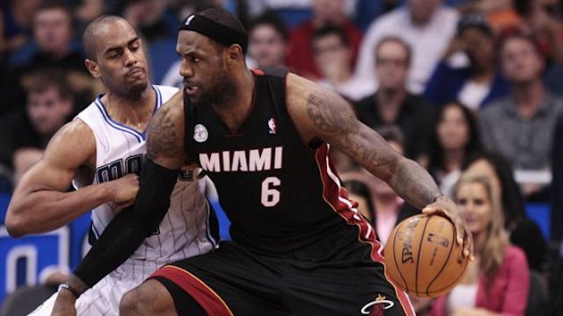 lebron james miami heat orlando magic