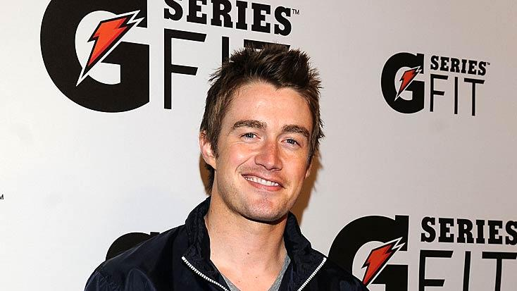 Robert Buckley Gatorade Lnch Prty
