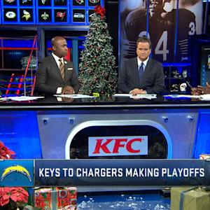 How can San Diego Chargers make playoffs?