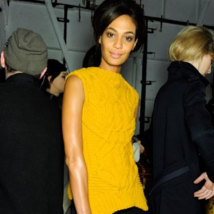 Derek Lam AW12 Backstage: Mustard Fashion Trend