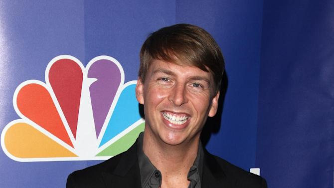 """FILE - In this May 17, 2010 file photo, actor Jack McBrayer attends the NBC Universal's Upfront presentation in New York. McBrayer stars in the animated film, """"Wreck-It-Ralph,"""" which opened on Nov. 2, 2012.   (AP Photo/Peter Kramer, File)"""