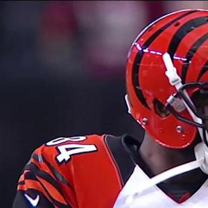 Cincinnati Bengals tight end Jermaine Gresham with 33-yard grab