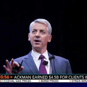 Bill Ackman Earned $4.5B for Clients in 2014