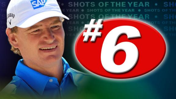 2012 Shots of the Year: No. 6 - Ernie Els