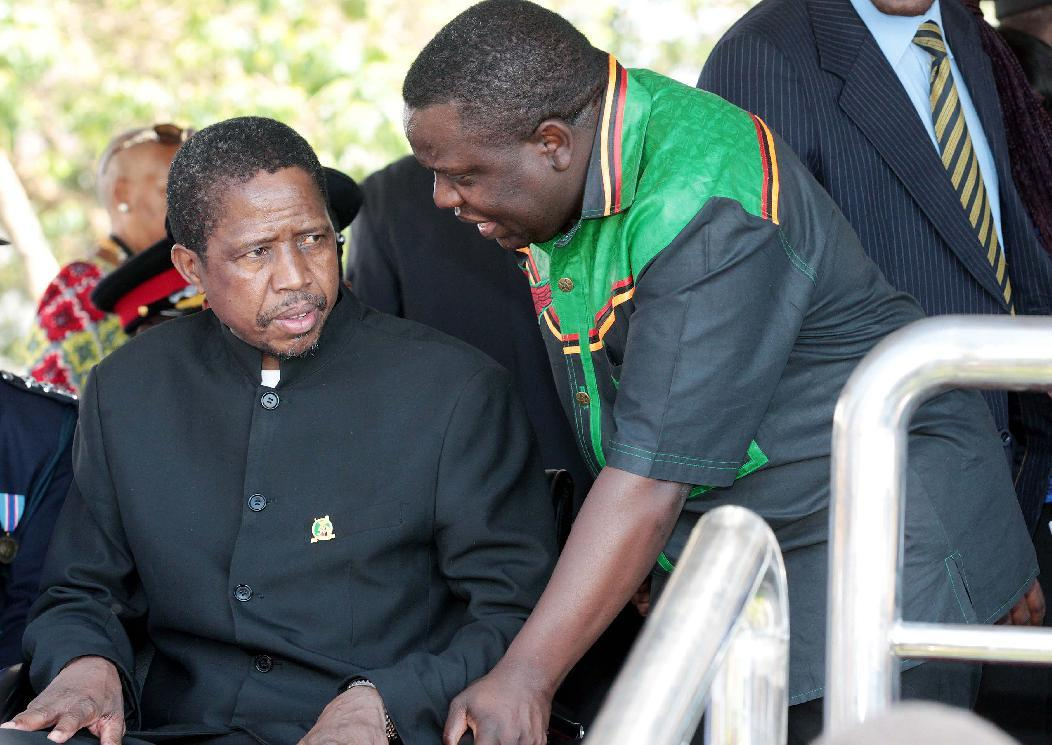 Zambia ruling party names Lungu as sole presidential candidate