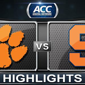 Clemson vs Syracuse | 2014 ACC Women's Basketball Tournament Highlights