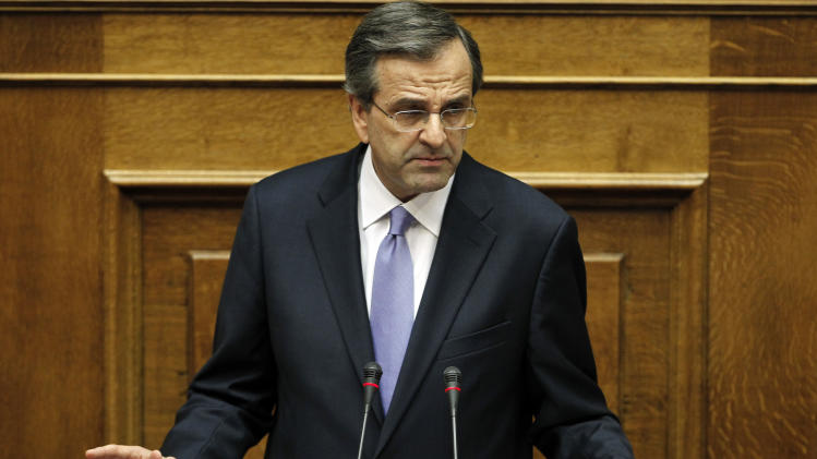 New Greek prime minister outlines crisis policy