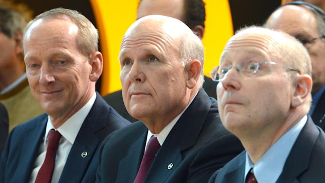 GM's Akerson reaffirms commitment to Opel