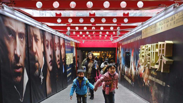 Film fans in Asia want light fun, make Oscars wait