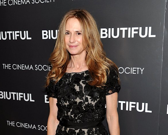 FILE - This Dec. 1, 2010 file photo shows actress Holly Hunter at a special screening of &quot;Biutiful&quot; hosted by The Cinema Society at The Lighthouse Theater in New York. The Flea Theatre said Friday, Nov. 9, 2012, the actress will star in The Vandal from Jan. 18-Feb. 17. (AP Photo/Evan Agostini, file)