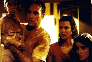 Oliver Robins , Craig T. Nelson , JoBeth Williams and Dominique Dunne in MGM's Poltergeist