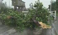 Tropical Storm Churns Through Central Japan