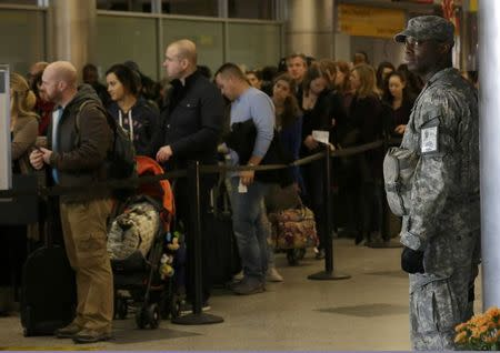Security expected to be tighter as Americans head off on Thanksgiving travel