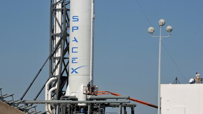 SpaceX's first try in January ended in failure when the rocket collided with the drone ship platform, after running out of the hydraulic fluid needed to power its steering fins