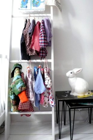 Make Your Own Clothing Ladder