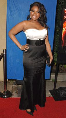 Jennifer Hudson at the Los Angeles premiere of DreamWorks Pictures' and Paramount Pictures' Dreamgirls