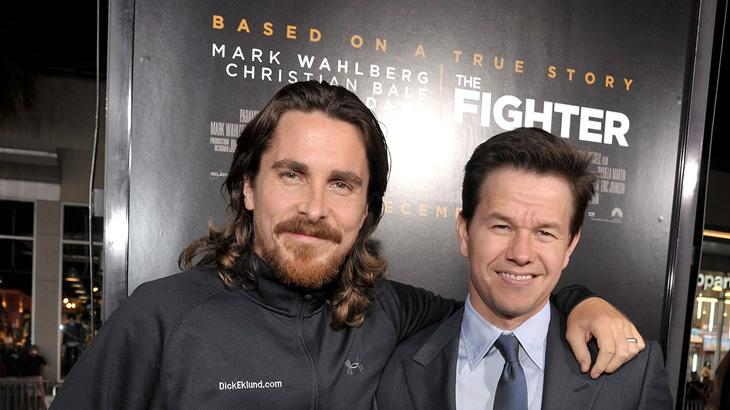 The Fighter LA Premiere 2010 Christian Bale Mark Wahlberg