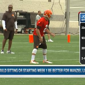 Cleveland Browns quarterback Johnny Manziel a starter?