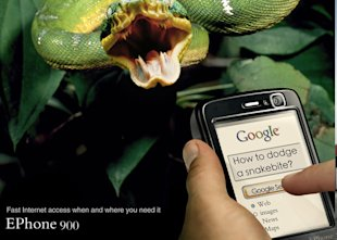 10 Of The Most Inspiring and Creative Advertising Banners image 9 ephone how to dodge snakebite