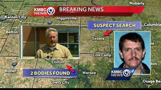 Suspect at large in slaying of Missouri woman kept in box