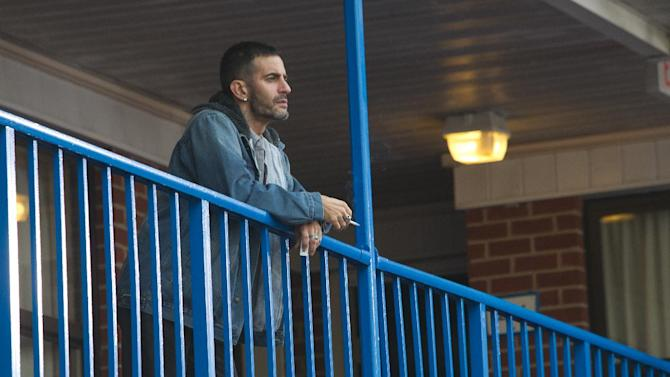 "This film image released by LD Entertainment shows Marc Jacobs in a scene from ""Disconnect."" (AP Photo/LD Entertainment)"