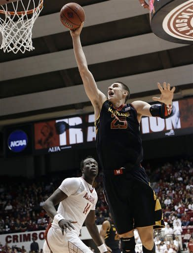 Maryland escapes with 58-57 win over Bama in NIT