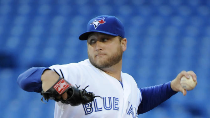 Buehrle, Blue Jays end 7-game skid, beat Astros