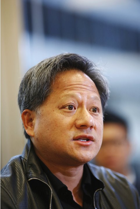 Nvidia CEO Huang speaks during the Reuters Global Technology Summit in San Francisco