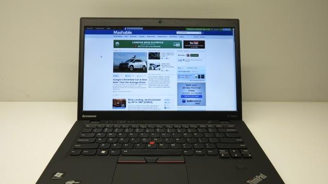 Lenovo ThinkPad X1 Carbon: Ultrabooks Get Their Flagship for Business [HANDS ON]