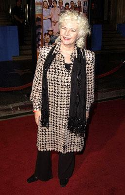 Fionnula Flanagan at the Hollywood premiere of The Royal Tenenbaums