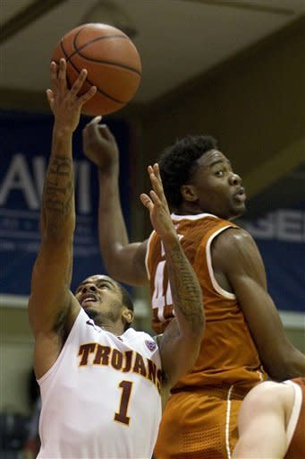 USC squeaks past Texas 59-53 in OT in Maui