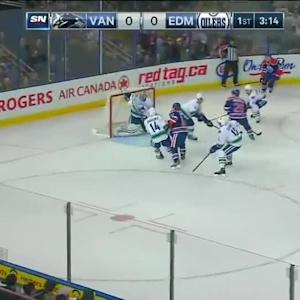 Vancouver Canucks at Edmonton Oilers - 10/17/2014