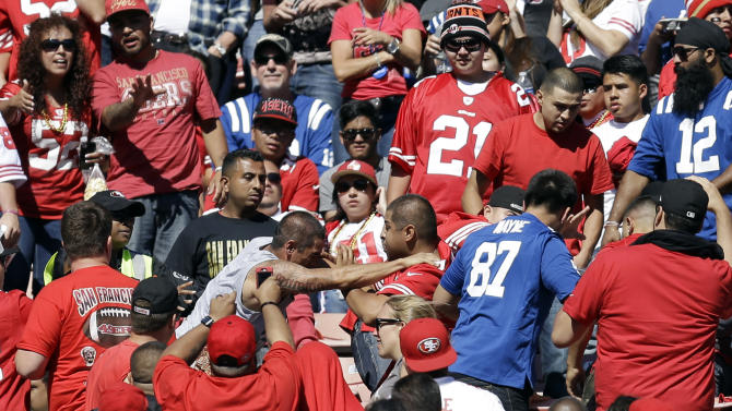 More fan violence reported at Candlestick Park